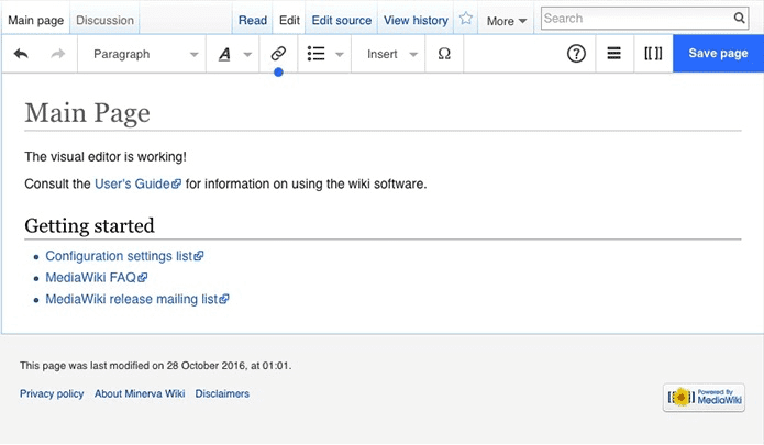 17 Awesome Technical Writing Tools For Documenting Information - MediaWiki