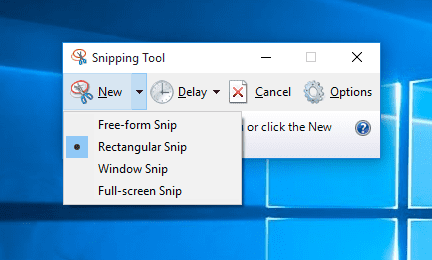 17 Awesome Technical Writing Tools For Documenting Information - Windows Snipping tool