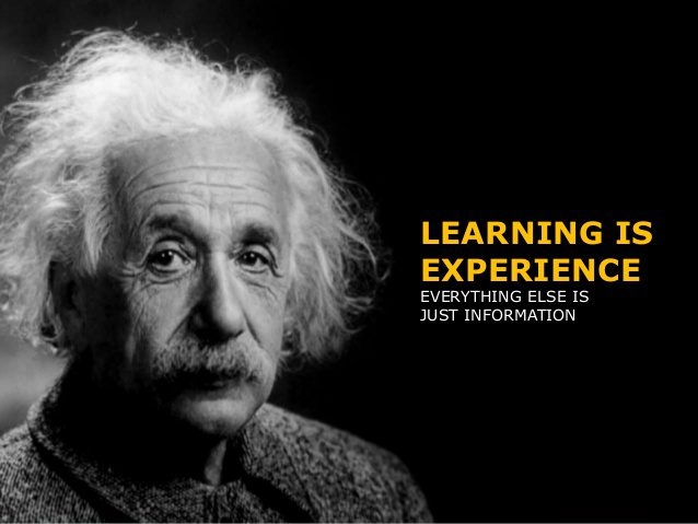 Blended learning experience - Einstein