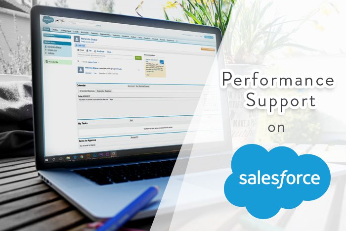 5 Impeccable Reasons To Adopt Performance Support For Salesforce