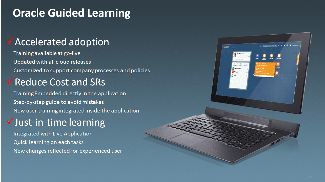 Why did Oracle introduce guided learning?