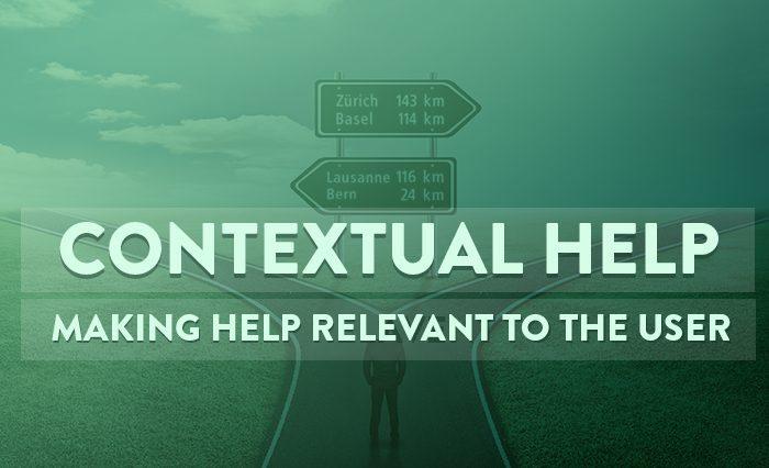 Contextual help