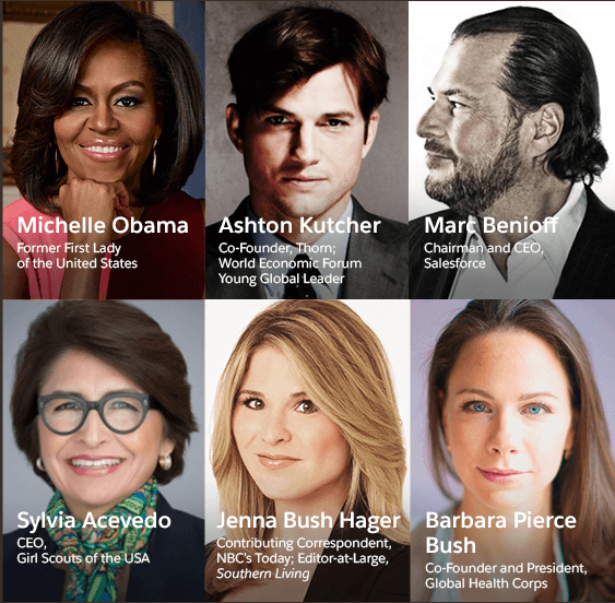 Michelle Obama will deliver a keynote at Dreamforce 2017