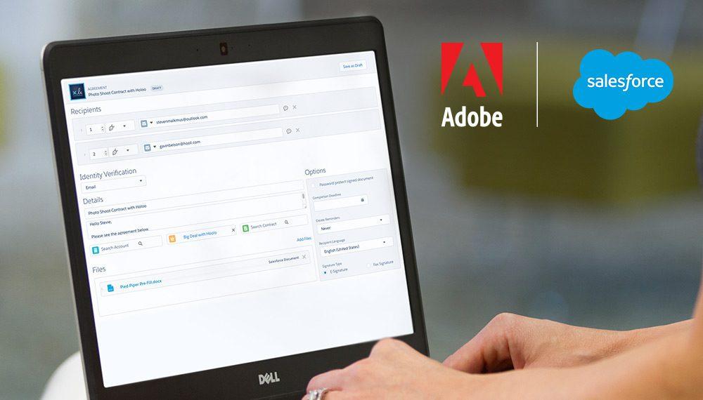 Salesforce AppExchange Apps - Adobe Sign
