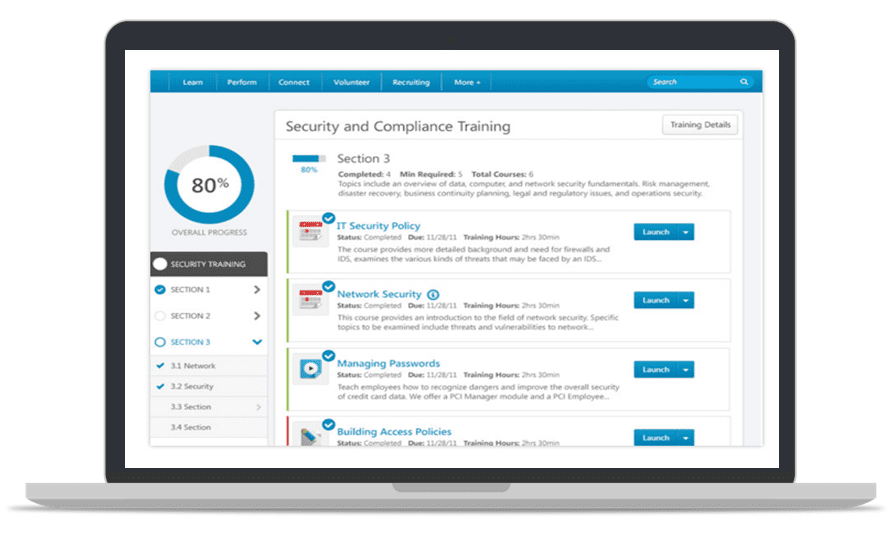 Salesforce AppExchange Apps - Cornerstone LMS