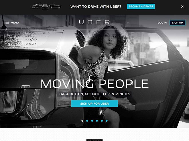 Uber adoption marketing campaign