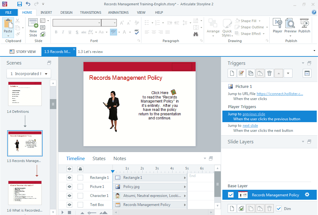 Articulate Storyline - 15 Instructional Design Software To Create Incredible eLearning Content