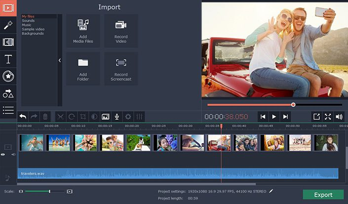 Movavi Video Editor - 15 Instructional Design Software To Create Incredible eLearning Content