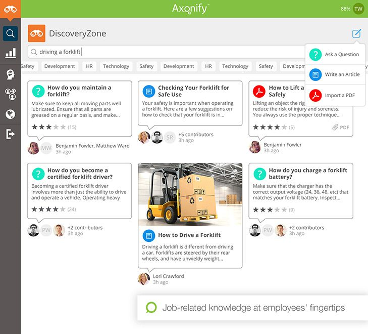 Axonify - 17 Training Tools For The Modern Trainer
