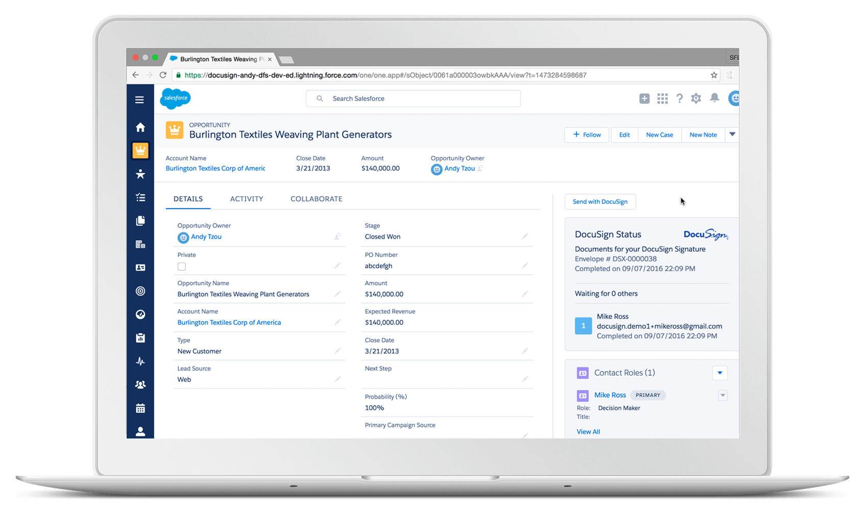 DocuSign - 15 Salesforce Integrations for Sales Teams To Boost Productivity