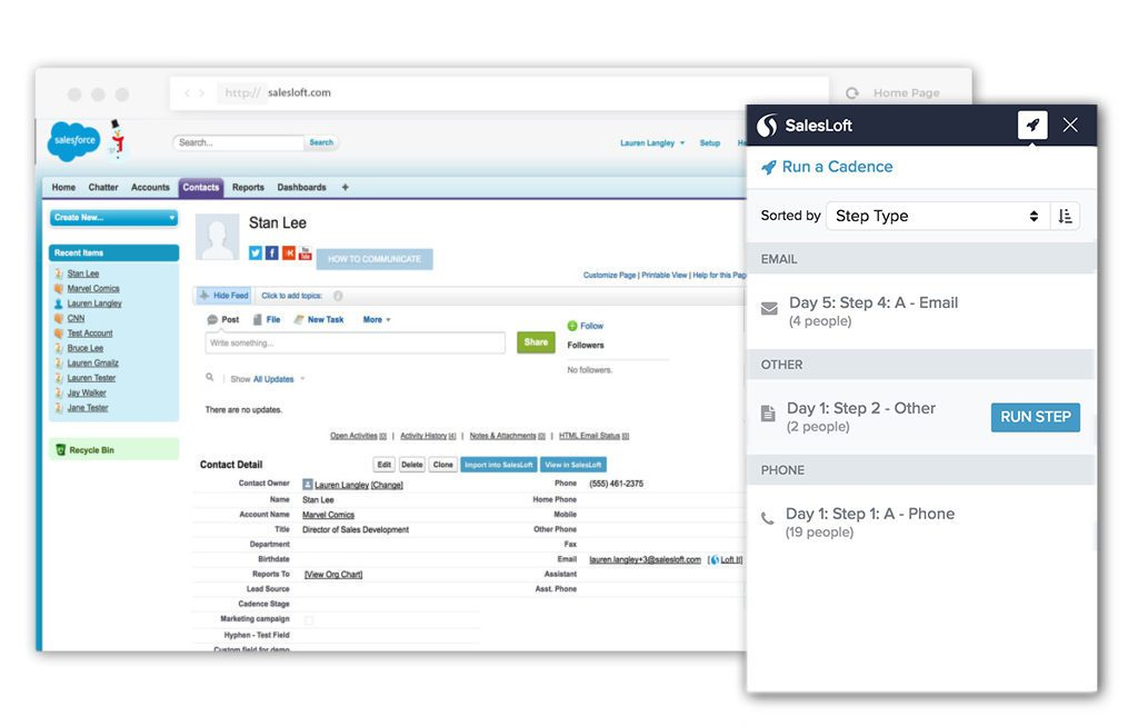 Salesloft - 15 Salesforce Integrations for Sales Teams To Boost Productivity