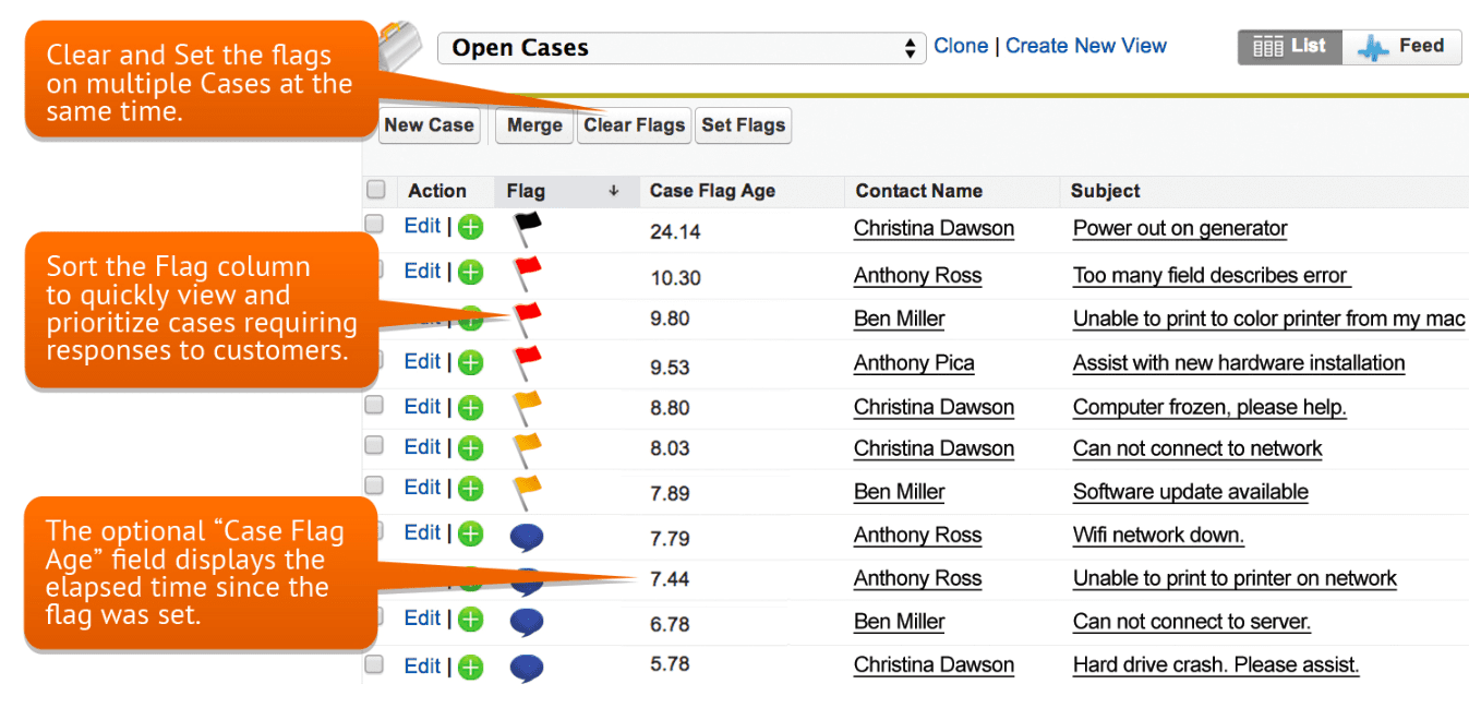 CaseFlags - 11 Salesforce Integrations for Service Teams to Improve Online Customer Service