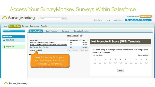 SurveyMonkey - 11 Salesforce Integrations for Service Teams to Improve Online Customer Service