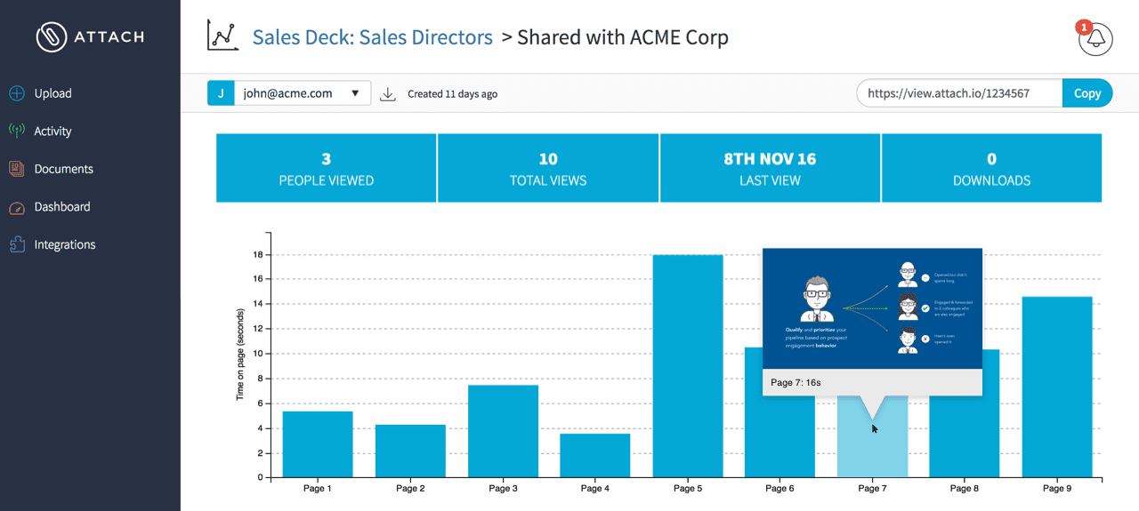 Attach - 12 Sales Enablement Tools To Empower Your Sales Team