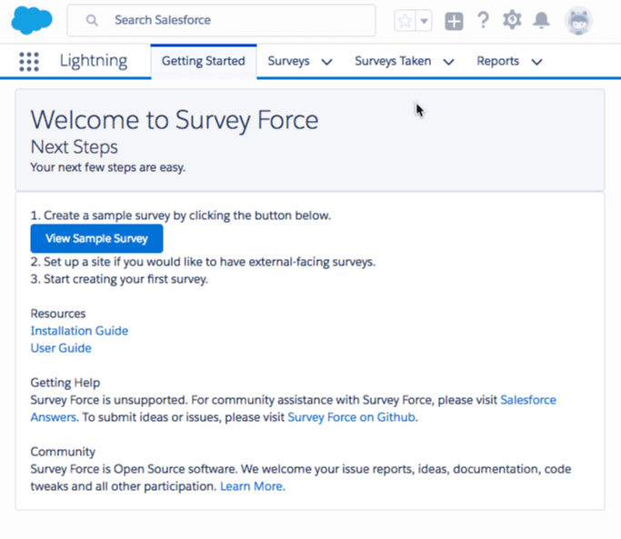 Survey Force - Looking for a tool to drive successful Lightning Migration? Here are 23!