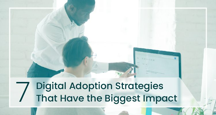 Digital Adoption strategies cover