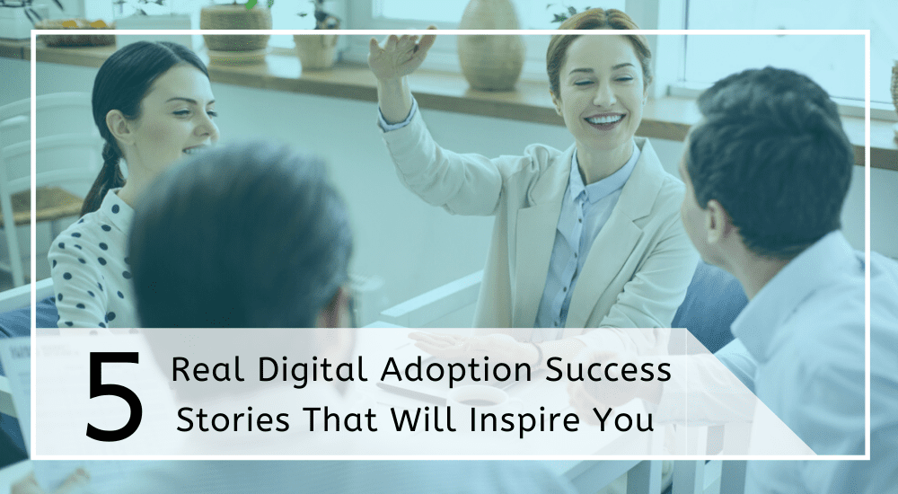 Digital adoption success stories cover