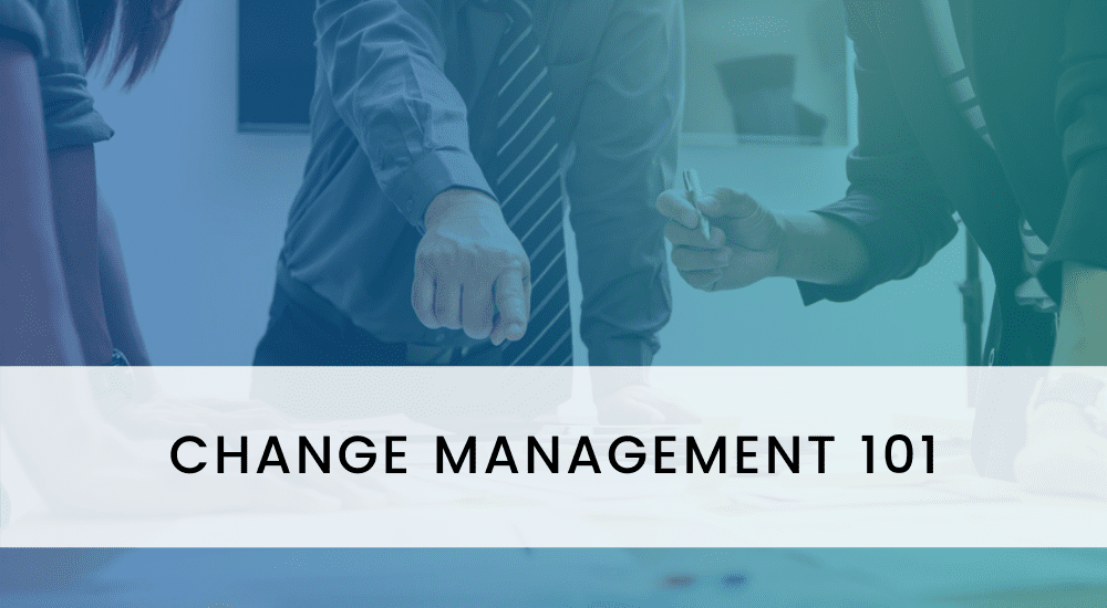 CHANGE MANAGEMENT 101- COVER