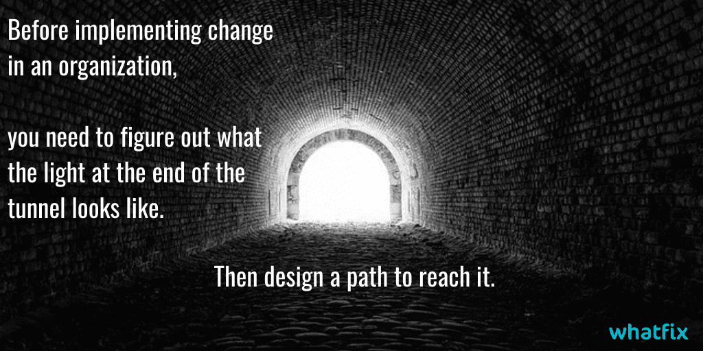 change management-design a path to reach change