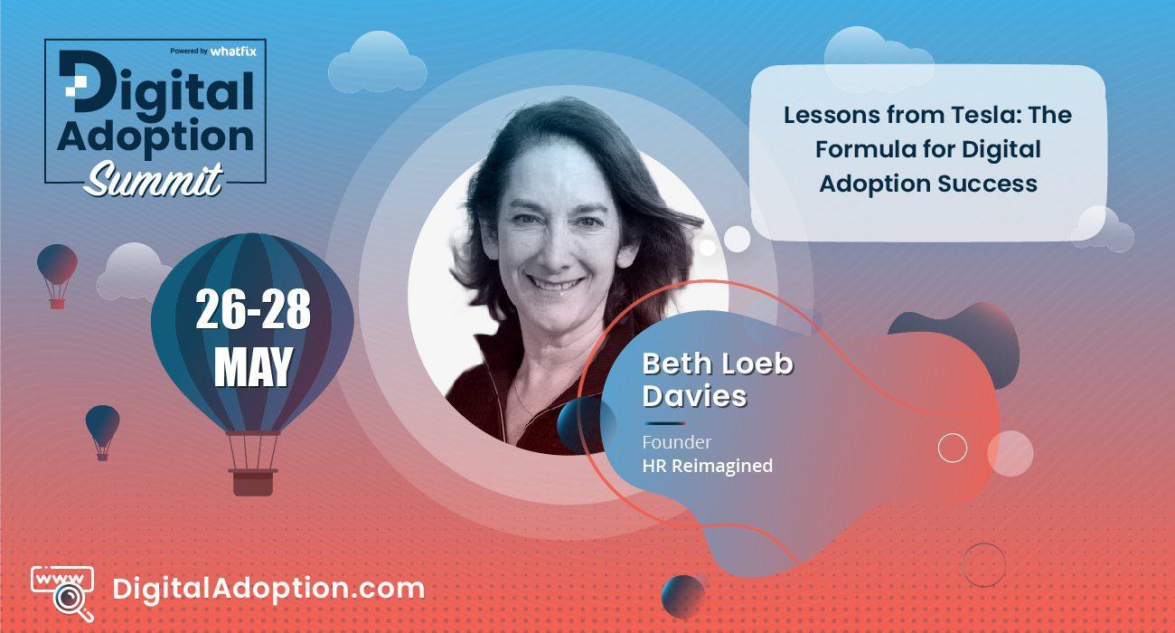 digital adoption summit - Beth Loeb