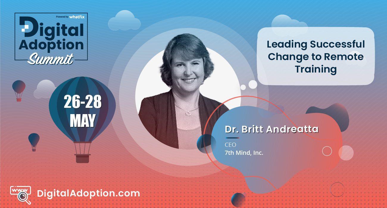digital adoption summit - Britt