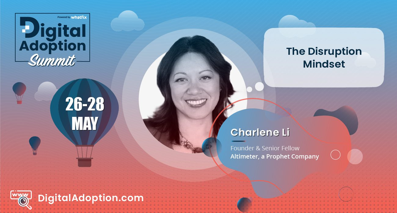 digital adoption summit - Charlene