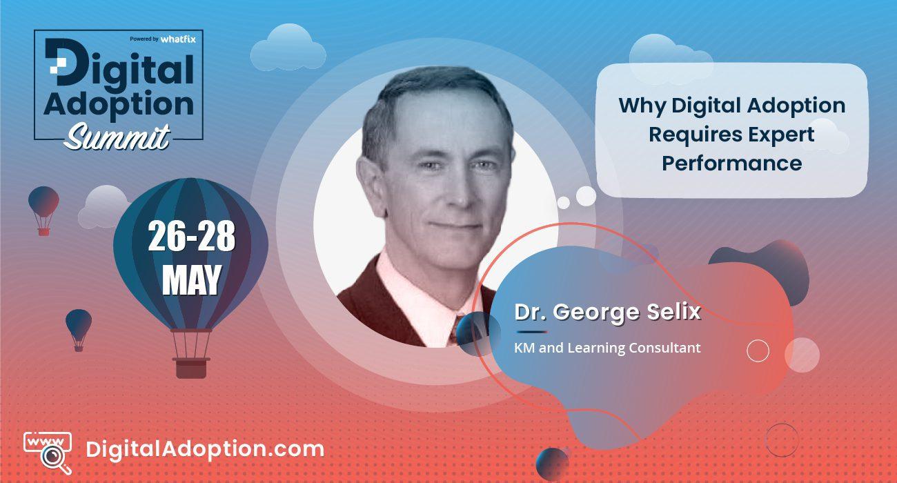 digital adoption summit - George