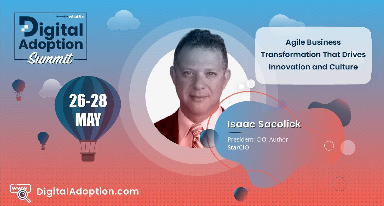 digital adoption summit - Isaac