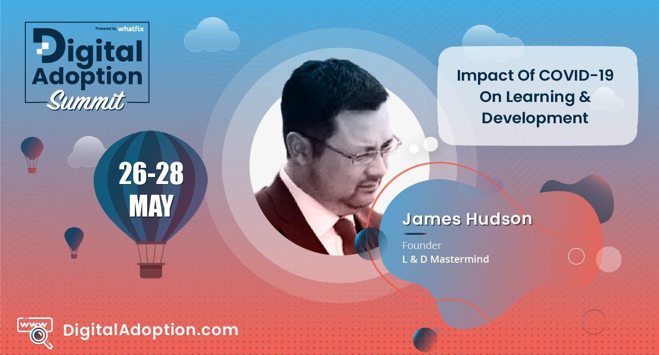 digital adoption summit - James
