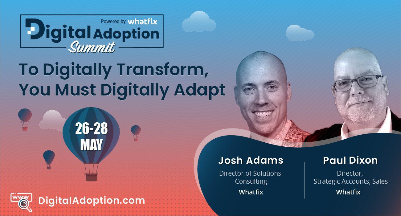 digital adoption summit - Josh&Paul