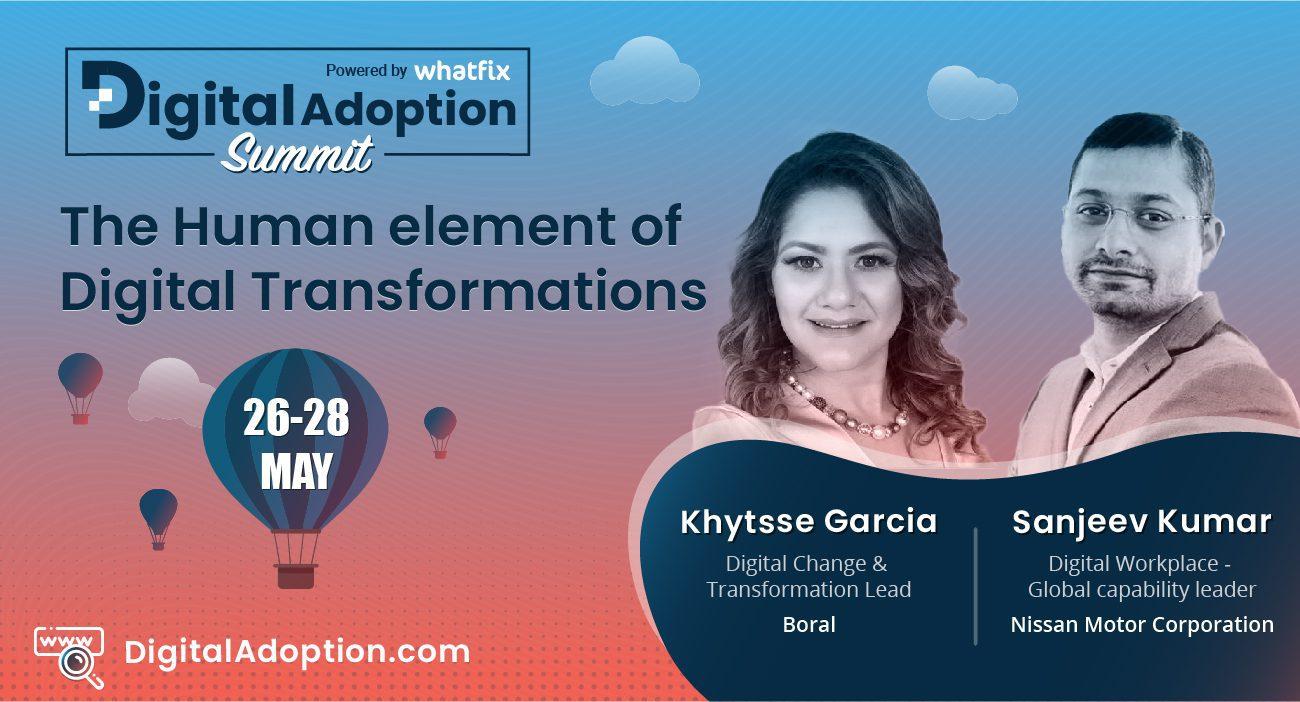 digital adoption summit - Khytsse & Sanjeev