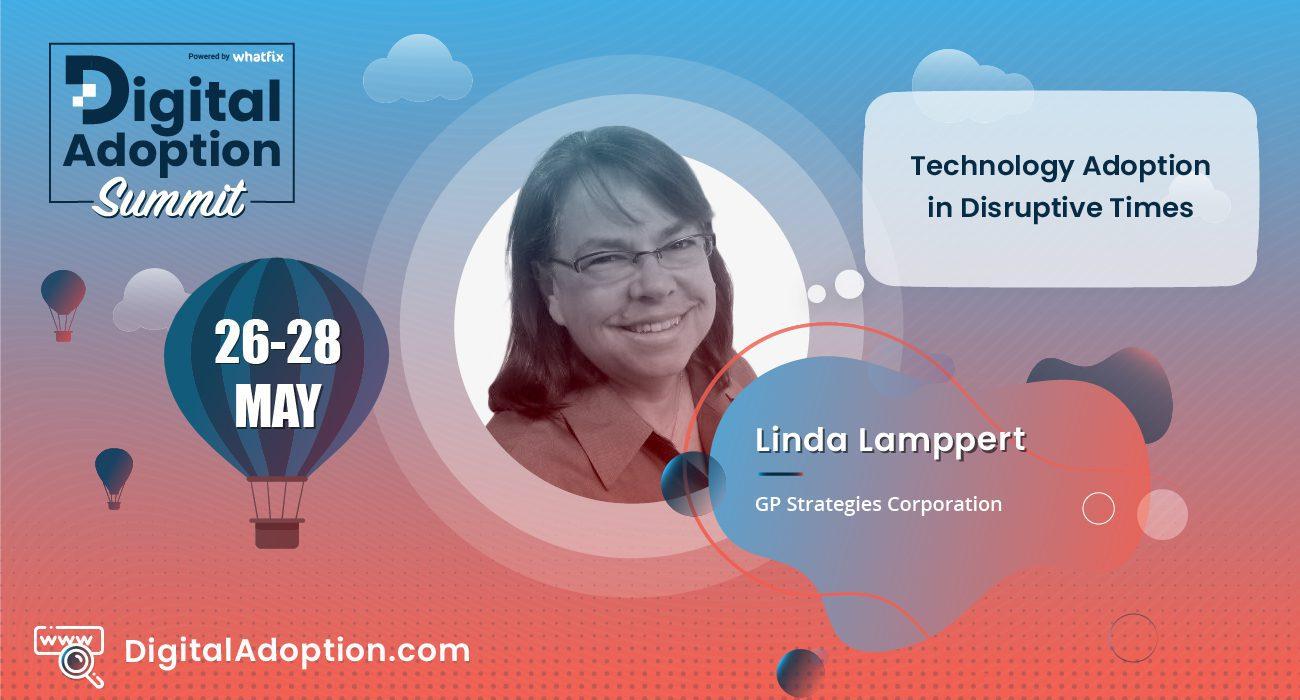 digital adoption summit - Linda