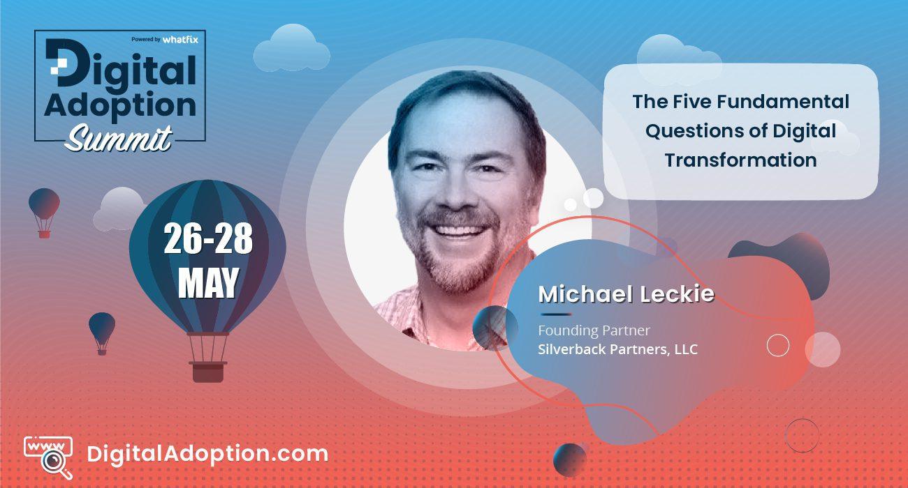 digital adoption summit - Michael