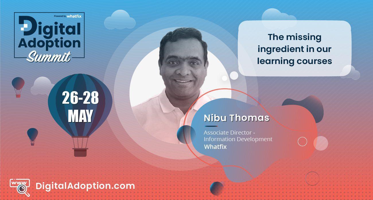 digital adoption summit - Nibu