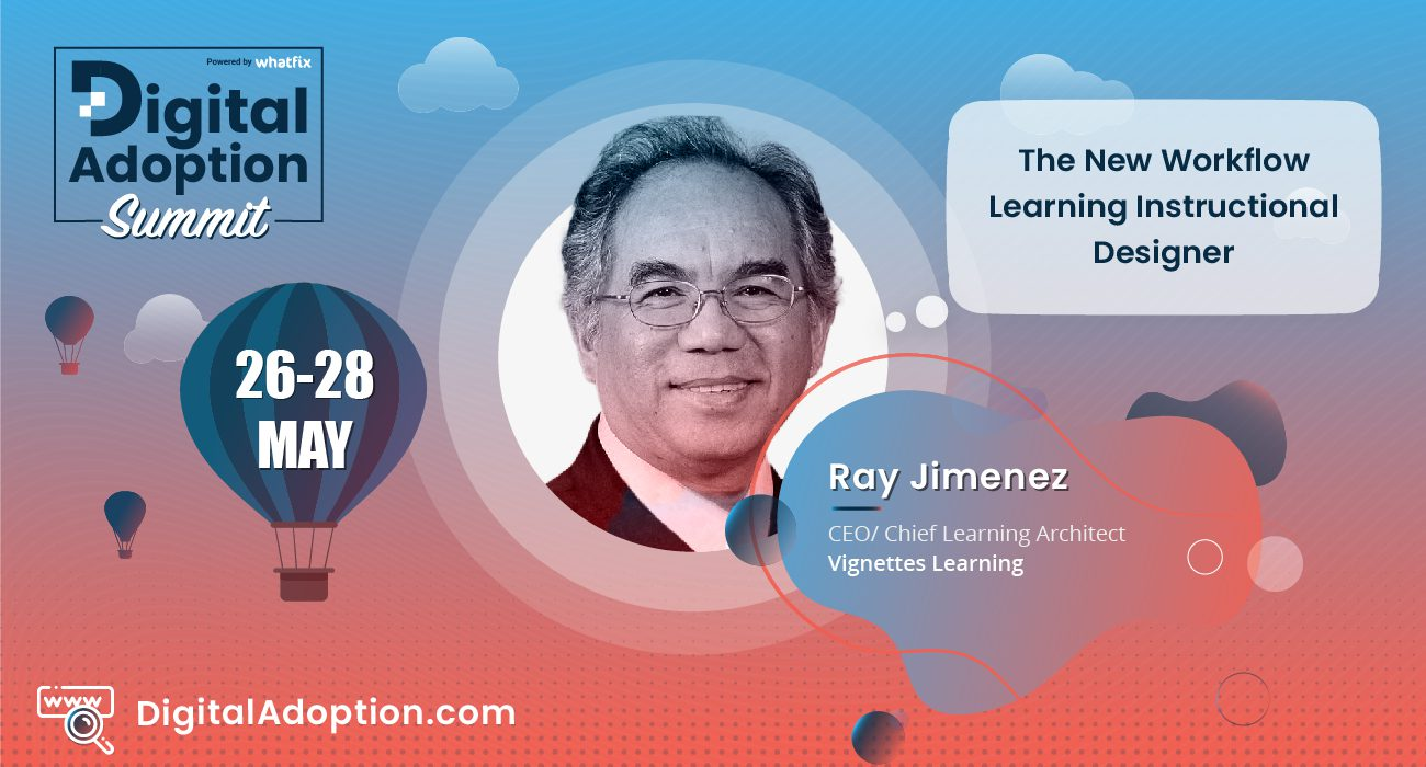 digital adoption summit - Ray
