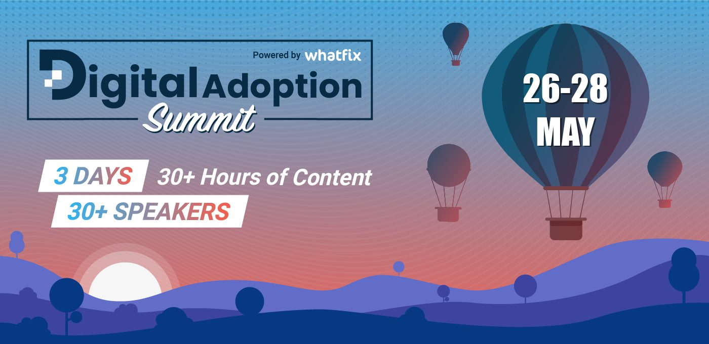Reasons to attend digital adoption summit cover