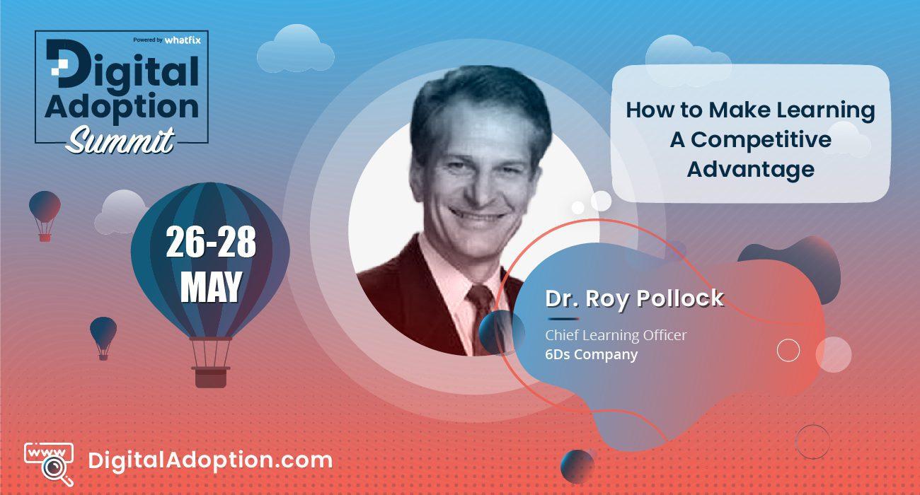 digital adoption summit - Roy
