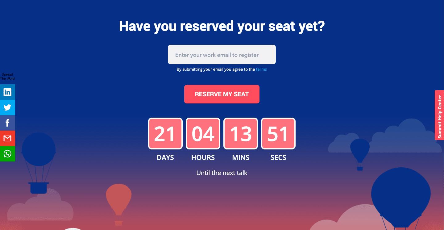 digital adoption summit - reserving you seat