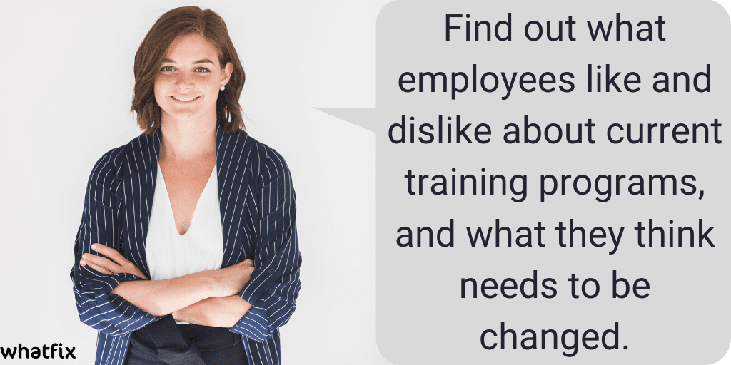 Talk to Employees About Past Training Experiences