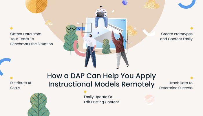 how a DAP can help you apply instructional design models remotely