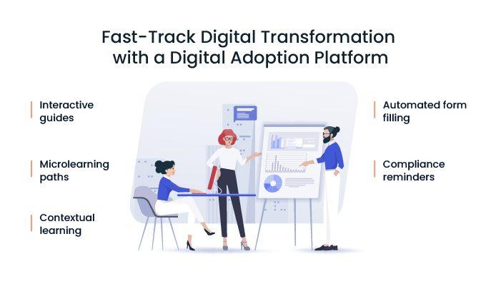 How to Fast-Track Digital Transformation for P&C Insurance with a Digital Adoption Platform (DAP)