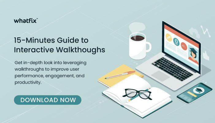 Guide to Interactive Walkthroughs