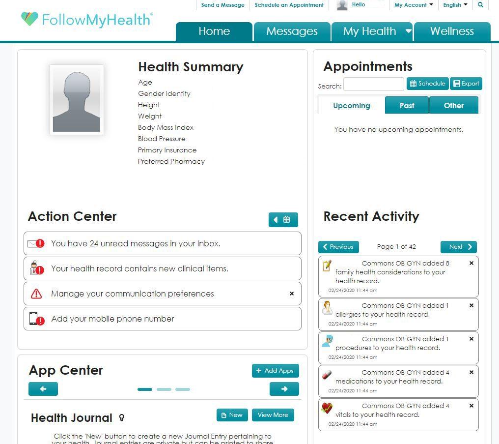 follow-my-health-patient-portal-example