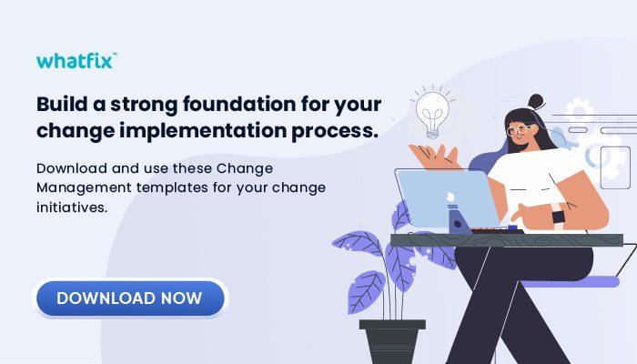 change management template