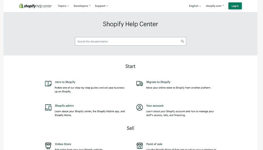 Shopify-Knowledge-Base-Example