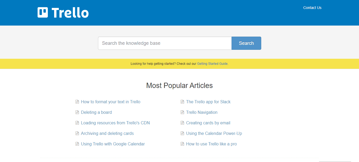 trello-help-center-example-user-documentation