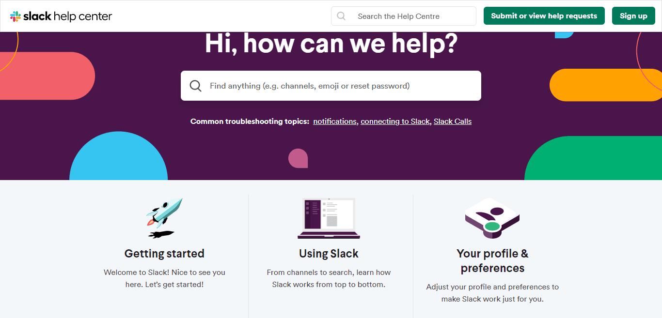 slack-user-help-center